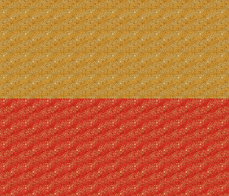 Blender Ditsy Half Yards in gold and rust fabric by joanmclemore on Spoonflower - custom fabric
