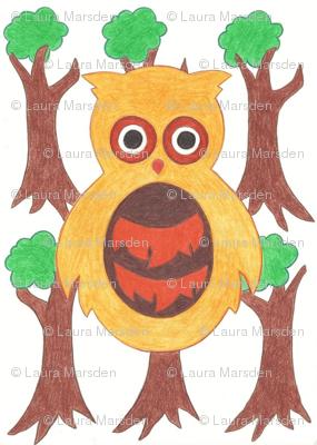 Woodland Owlets