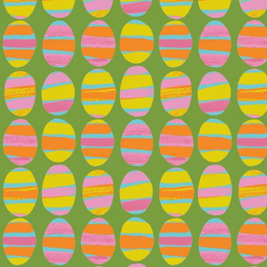 striped eggs