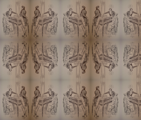 Please Play fabric by lapittrice13 on Spoonflower - custom fabric