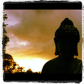 buddha & the sunset