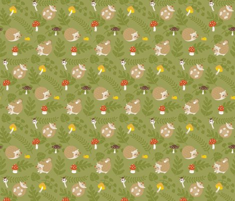 Rhedgehog-pattern-green-rgb_shop_preview