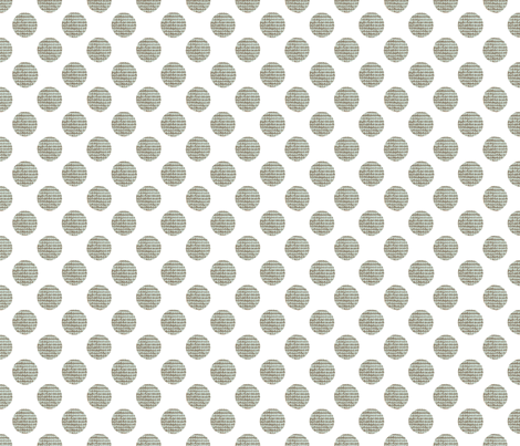 Green Polka Dots on White fabric by karenharveycox on Spoonflower - custom fabric