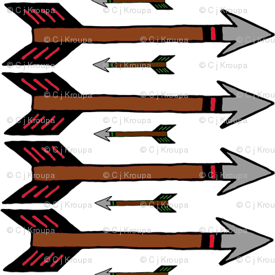 Arrows (colored fletching)