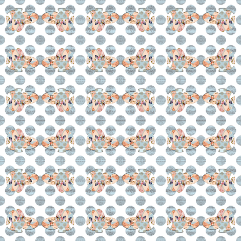 Tweed Polka Dots