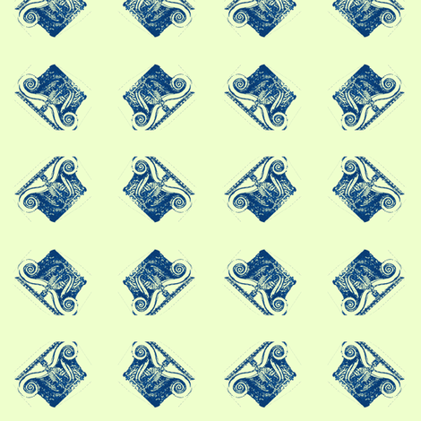 Dancing Capitals fabric by amyvail on Spoonflower - custom fabric