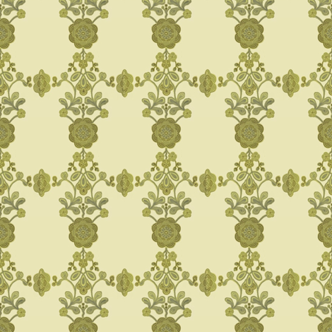 Avocado Medallions fabric by ragan on Spoonflower - custom fabric