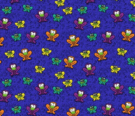 Rhenri_yoki_-_z3_-_two_frogs_in_dark_blue_shop_preview
