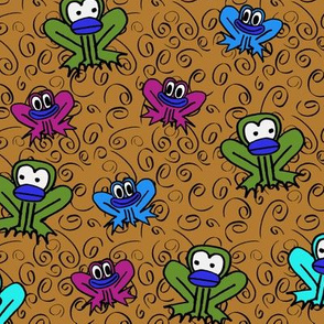 z3 - Frogs in Brown
