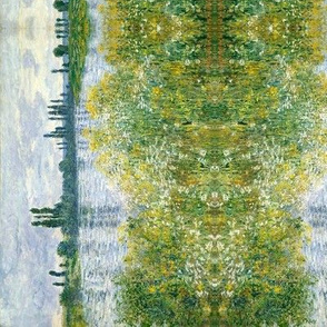 Monet stripe