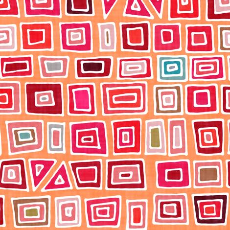 blush mosaic fabric by scrummy on Spoonflower - custom fabric