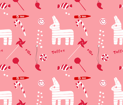 Piñata Party fabric by francescaiannaccone on Spoonflower - custom fabric