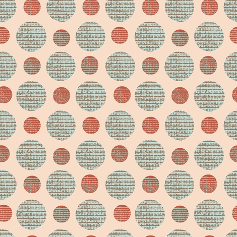 Tisket, Tasket Polka Dots fabric by karenharveycox on Spoonflower - custom fabric