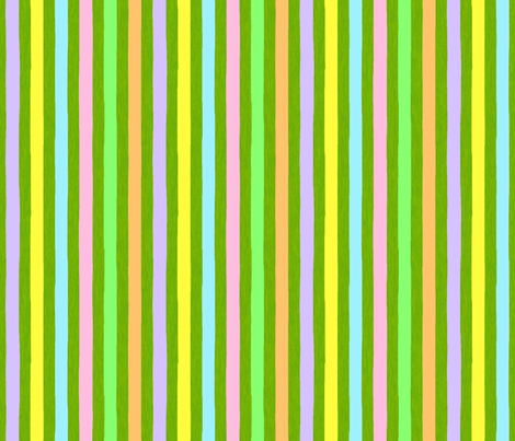 Painted stripe _painted egg coordinate fabric by victorialasher on Spoonflower - custom fabric
