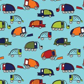 LaraGeorgine_Garbage_Trucks