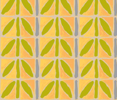laurel leaf crown fabric by luckyb on Spoonflower - custom fabric