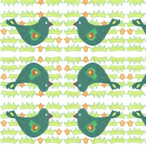 Chirpy birds