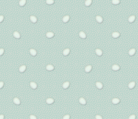 gc_dots eggs fabric by glimmericks on Spoonflower - custom fabric