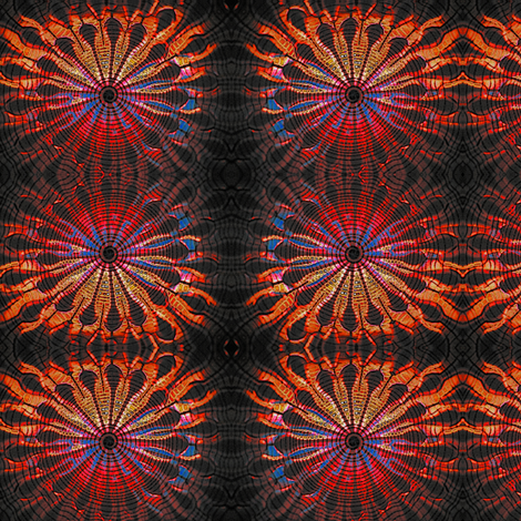 solar flare fabric by nalo_hopkinson on Spoonflower - custom fabric