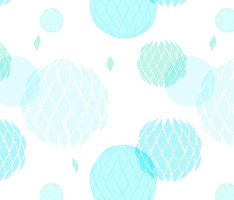 Paper Balls fabric by francescaiannaccone on Spoonflower - custom fabric