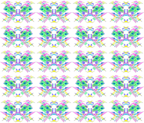 Colourful Kittens fabric by henriika on Spoonflower - custom fabric