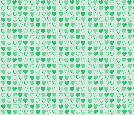 Hopelessly Devoted to Cali fabric by lapittrice13 on Spoonflower - custom fabric