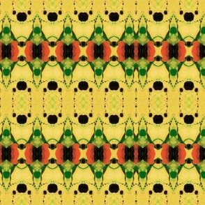 Yellow green and black