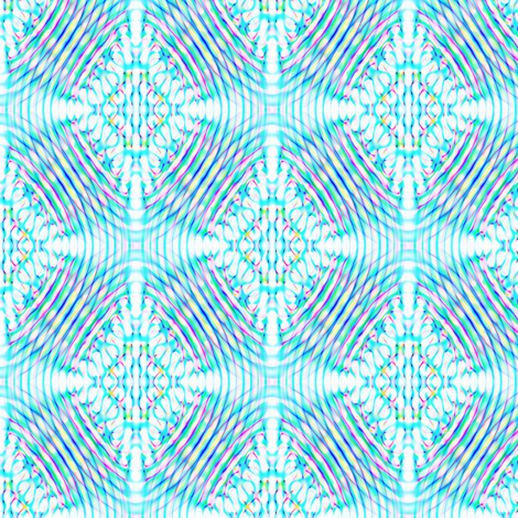 Underwater Aquifer fabric by feebeedee on Spoonflower - custom fabric
