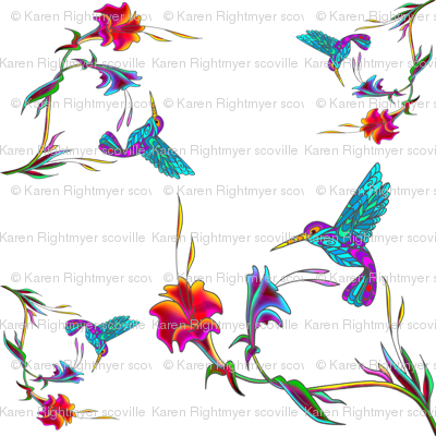 hummingbird lattice