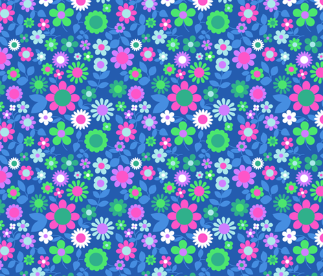 flora_mix_layer fabric by aliceapple on Spoonflower - custom fabric