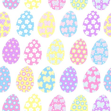 Painted_egg_butterfly_flower_fabric_shop_preview