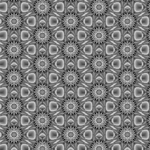 grey fractal repeat