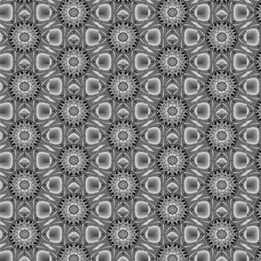 grey fractal repeat