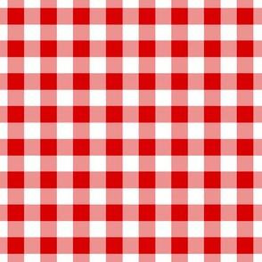 Summer Cottage - Red Gingham