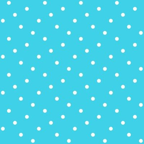 Summer Cottage - Aqua Dots