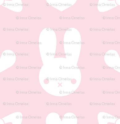 Pretty Bunny Pattern-Pink