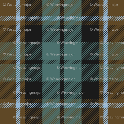 Graham of Menteith tartan (weathered)