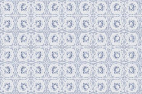 Grumpy Kitten Delft Toile  fabric by featherhill on Spoonflower - custom fabric