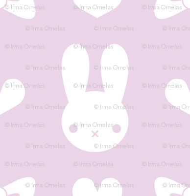 Pretty Bunny Pattern-Purple
