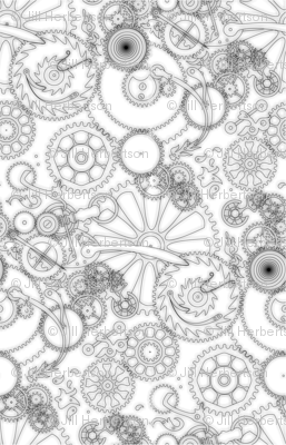 Geartrain--ink