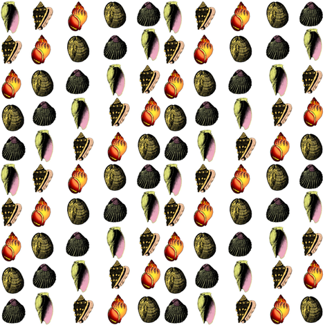 Shell Game fabric by ravynscache on Spoonflower - custom fabric