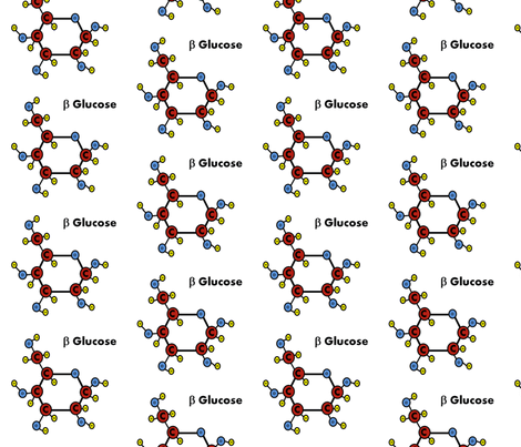 beta glucose colour fabric by amysworlds on Spoonflower - custom fabric