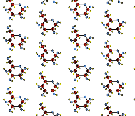 beta glucose no title fabric by amysworlds on Spoonflower - custom fabric