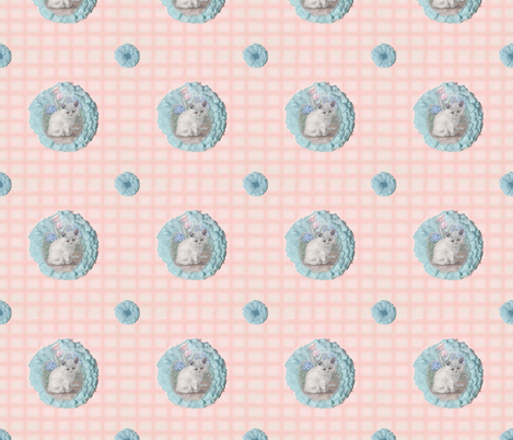 Grumpy_Kitten_2 fabric by featherhill on Spoonflower - custom fabric