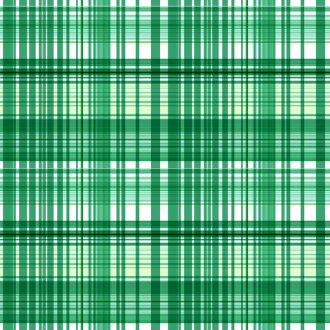 Shamrock plaid fabric by paragonstudios on Spoonflower - custom fabric
