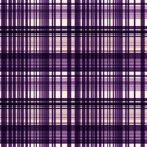 Grape jelly plaid