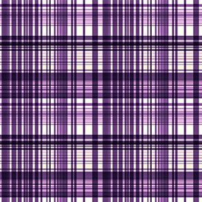 plum mad plaid