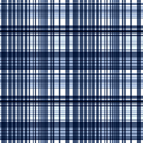 Navy plaid fabric by paragonstudios on Spoonflower - custom fabric