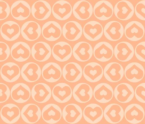 Candy Hearts fabric by ricerafferty on Spoonflower - custom fabric