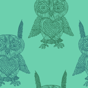 Owls in Mint
